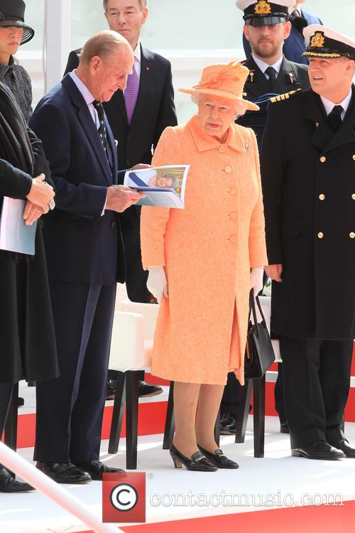 The Queen and Duke Of Edinburgh 2