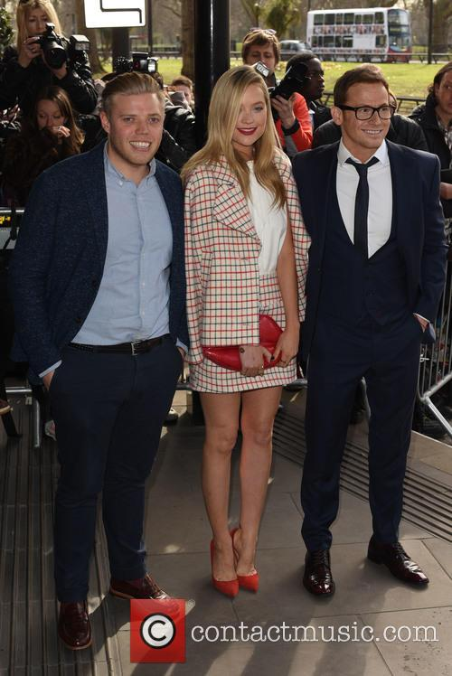 Laura Whitmore, Rob Beckett and Joe Swash 7