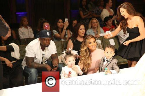 Curtis James Jackson Iii, 50 Cent, Daphne Joy and Sire Jackson 3