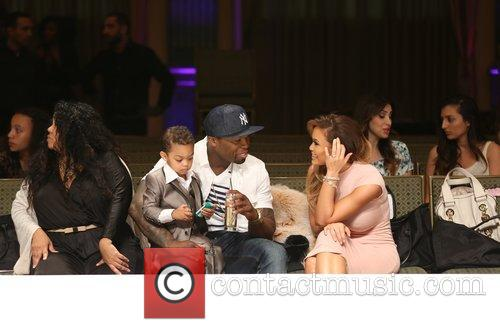 Curtis James Jackson Iii, 50 Cent, Daphne Joy and Sire Jackson 5