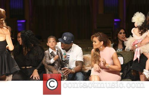 Curtis James Jackson Iii, 50 Cent, Daphne Joy and Sire Jackson 6