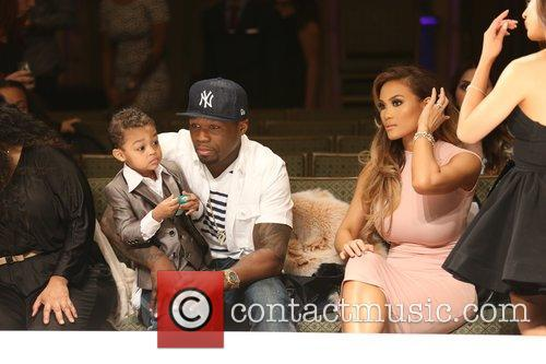 Curtis James Jackson Iii, 50 Cent, Daphne Joy and Sire Jackson 8