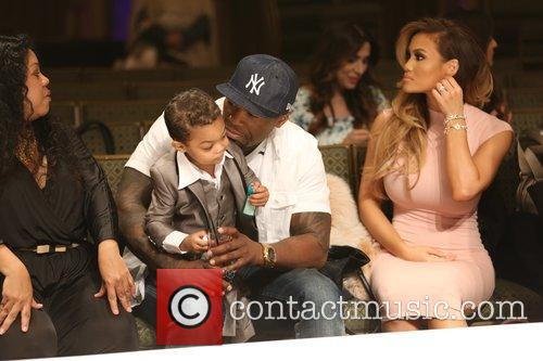 Curtis James Jackson Iii, 50 Cent, Daphne Joy and Sire Jackson 1