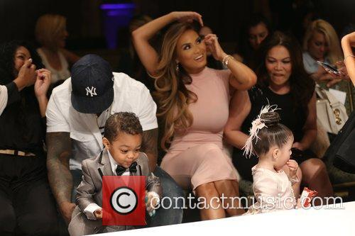 Curtis James Jackson Iii, 50 Cent, Daphne Joy and Sire Jackson 11