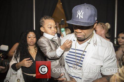Curtis James Jackson Iii, 50 Cent and Sire Jackson 2