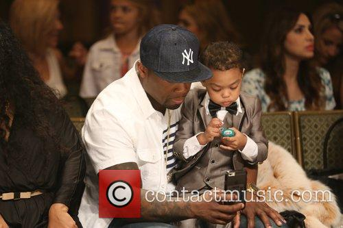 Curtis James Jackson Iii, 50 Cent and Sire Jackson 10