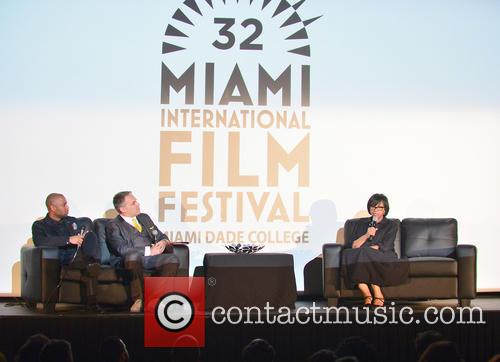Kevin Sharpley, Miamiff Executive Director Jaie Laplante and Cheryl Boone Isaacs 3