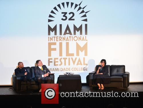 Kevin Sharpley, Miamiff Executive Director Jaie Laplante and Cheryl Boone Isaacs 1