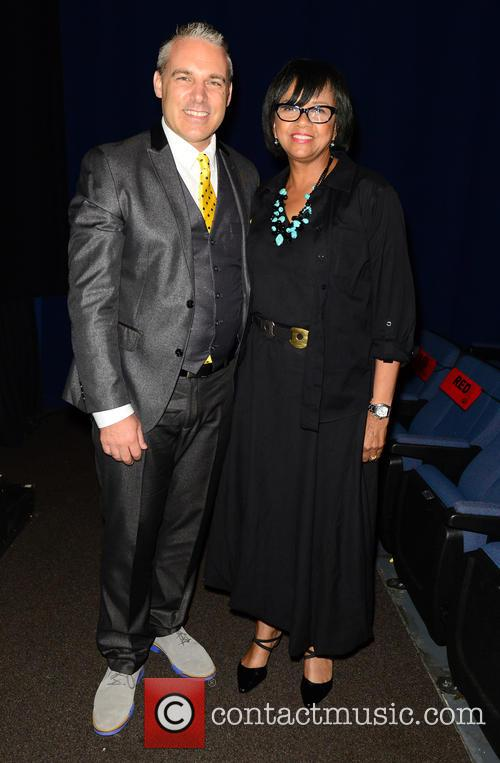 Miamiff Executive Director Jaie Laplante and Cheryl Boone Isaacs 1