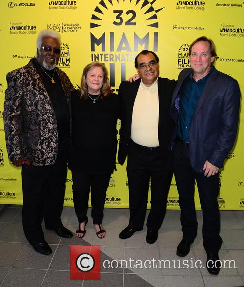 Mark Moormann, Singer Benny Latimore, Marcia Radclife and Singer Timmy Thomas 1