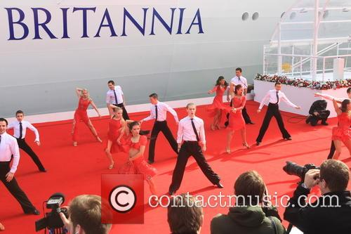 The Inaugural Celebration, Naming Ceremony, P, O Cruises and Britannia 1