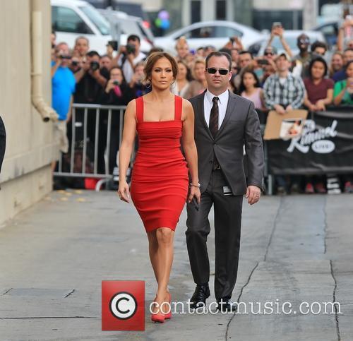 Jennifer Lopez arrives at ABC studios
