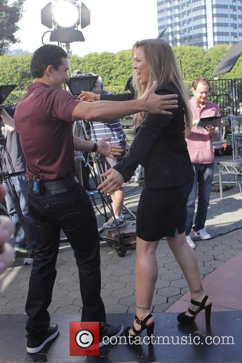 Mario Lopez and Ronda Rousey 6