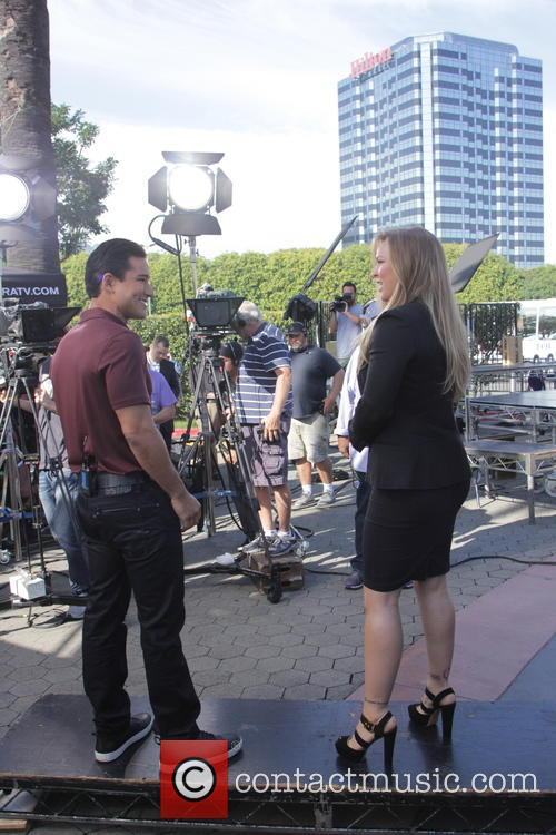 Mario Lopez and Ronda Rousey 9