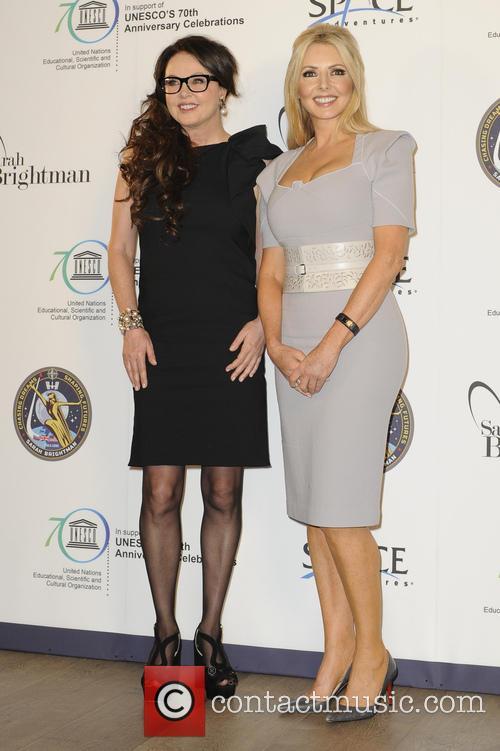Sarah Brightman and Carol Voderman 6