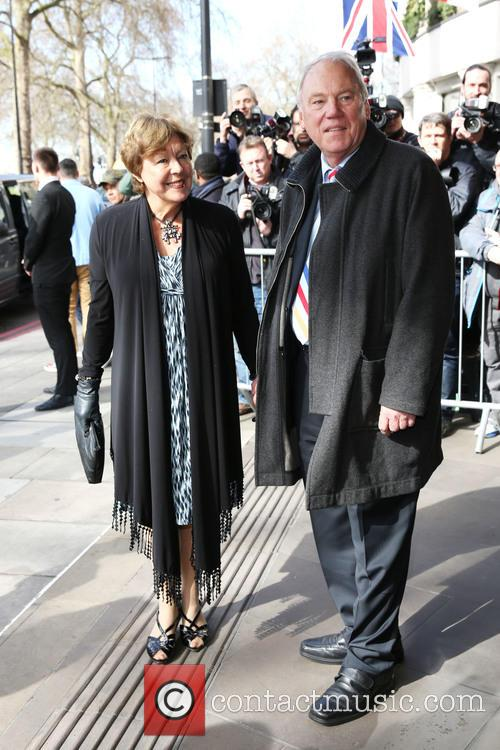 Sylvia Sissons and Peter Sissons 11