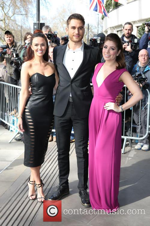 Nikki Sanderson, Charlie Clapham and Jennifer Metcalfe 5