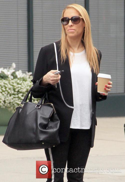 Jenn Berman goes shopping in Bevery Hills