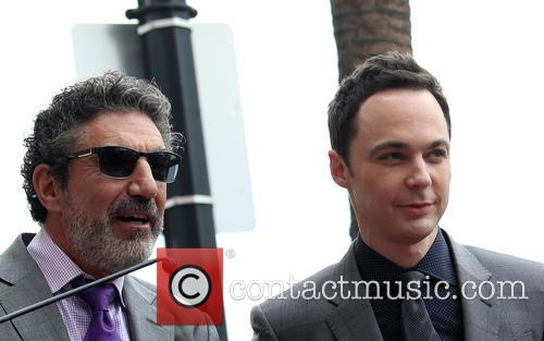 Chuck Lorre and Jim Parsons 2