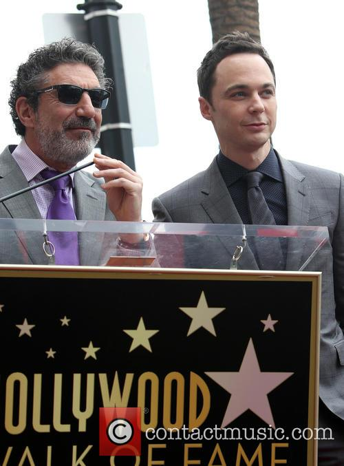 Chuck Lorre and Jim Parsons 3