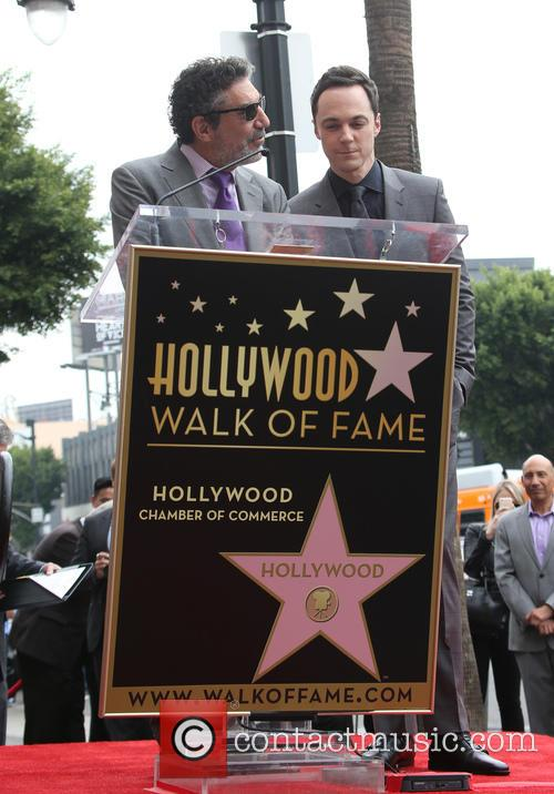 Chuck Lorre and Jim Parsons 4