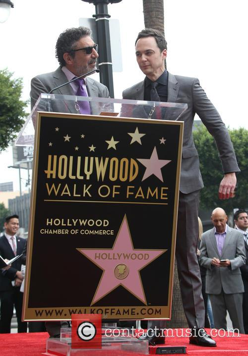 Chuck Lorre and Jim Parsons 5