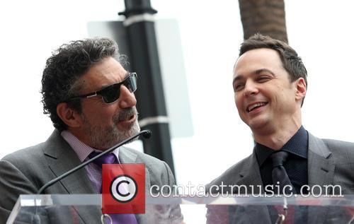 Chuck Lorre and Jim Parsons 8