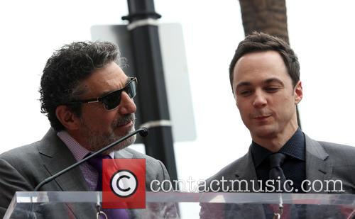 Chuck Lorre and Jim Parsons 9