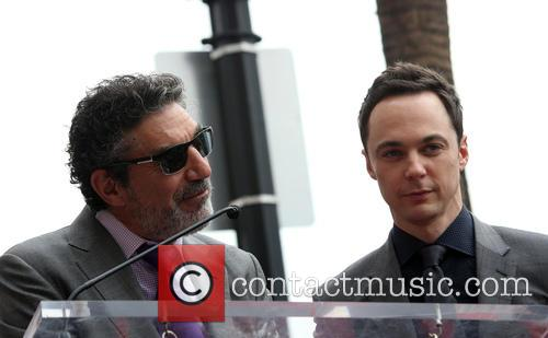 Chuck Lorre and Jim Parsons 1