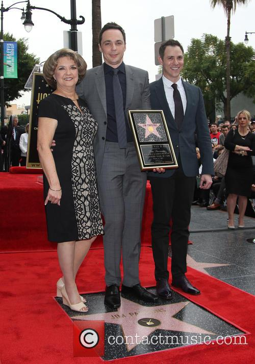 Judy Parsons, Jim Parsons and Todd Spiewak 5