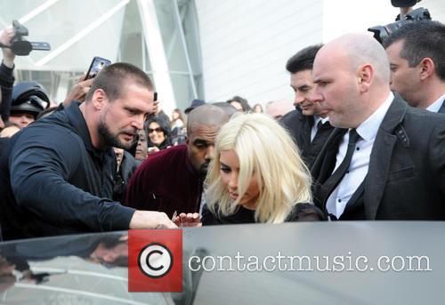 Kim Kardashian and Kanye West 6