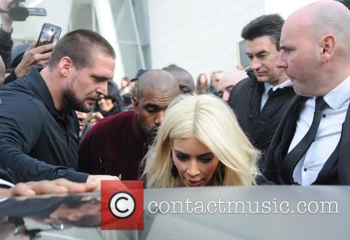 Kim Kardashian and Kanye West 7