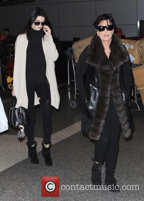 Kris Jenner and Kendall Jenner 2