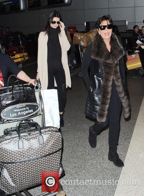 Kris Jenner and Kendall Jenner 3