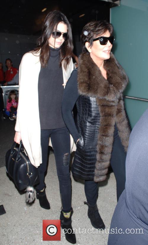 Kris Jenner and Kendall Jenner 4