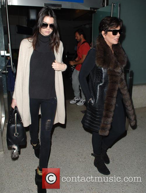 Kris Jenner and Kendall Jenner 7
