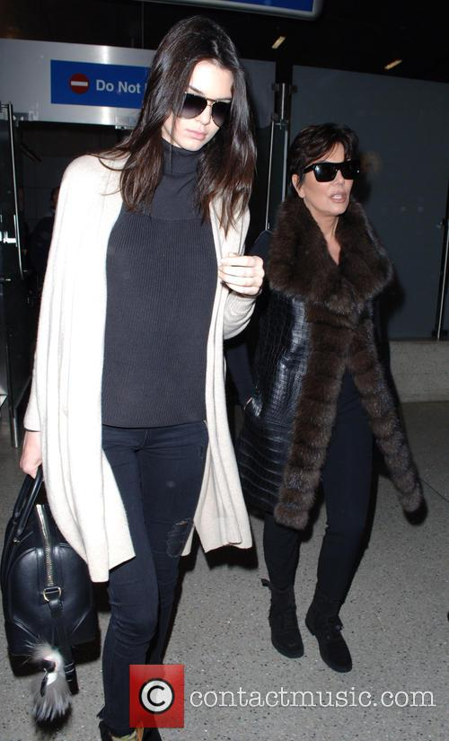 Kris Jenner and Kendall Jenner 8