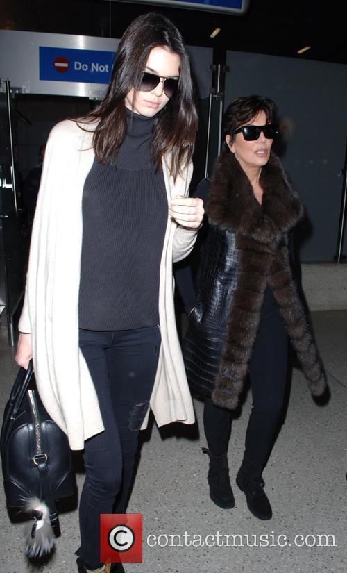 Kris Jenner and Kendall Jenner 8
