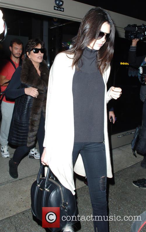 Kris Jenner and Kendall Jenner 9