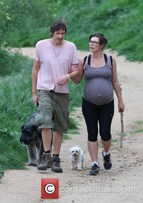 Milla Jovovich and Paul W.s. Anderson 11