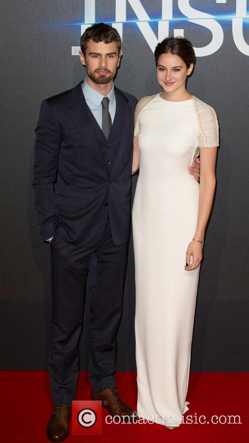 Shailene Woodley and Theo James 6