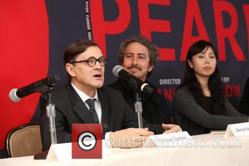 Michael Cotton, Daniel Ezralow and Angela Tang 1