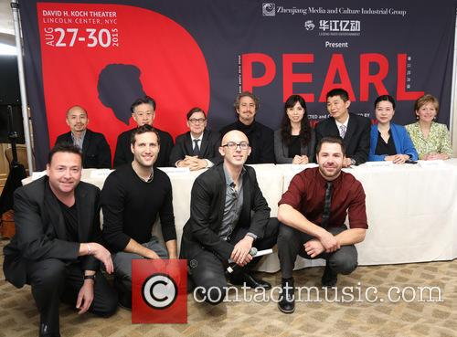 Robin Resella, Jun Miyake, Michael Cotton, Daniel Ezralow, Angela Tang, Weinbiao Tang, Shu Tong, Pamela Carroll and Guests 6