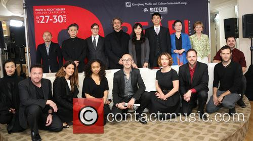 Robin Resella, Jun Miyake, Michael Cotton, Daniel Ezralow, Angela Tang, Weinbiao Tang, Shu Tong, Pamela Carroll and Guests 1