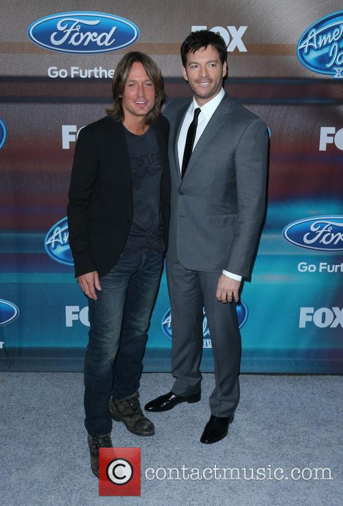 Keith Urban, Harry Connick and Jr 3