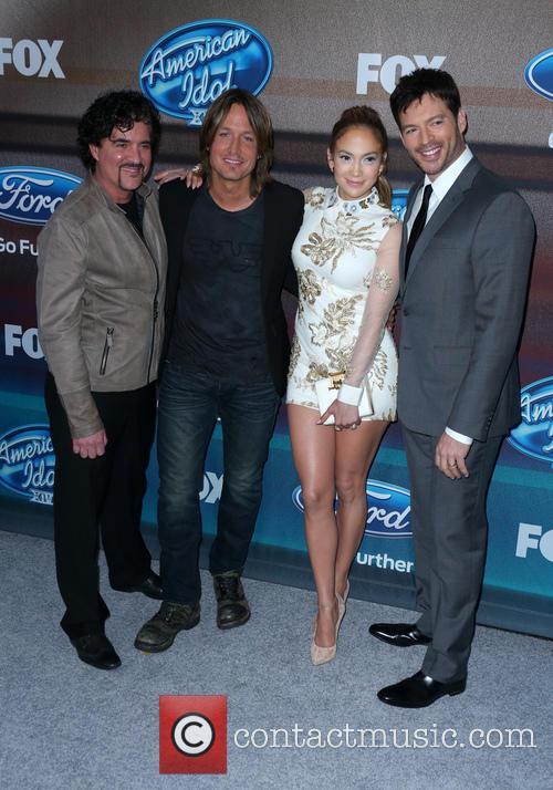 Scott Borchetta, Keith Urban, Jennifer Lopez, Harry Connick and Jr 1
