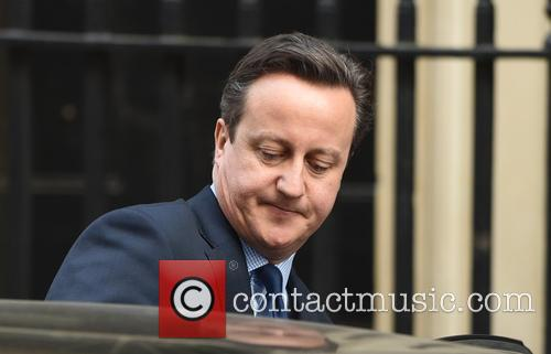 Prime Minister David Cameron leaves 10 Downing Street