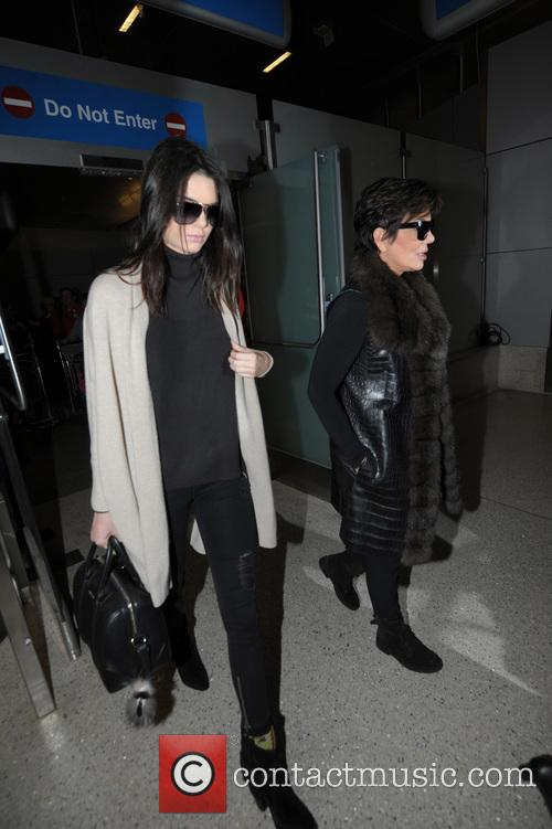Kendall Jenner and Kris Jenner 1