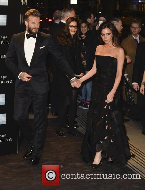 Victoria Beckham and David Beckham 4