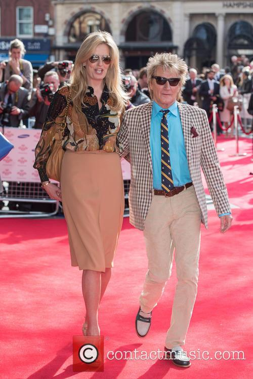 Penny Lancaster Stewart and Rod Stewart 2